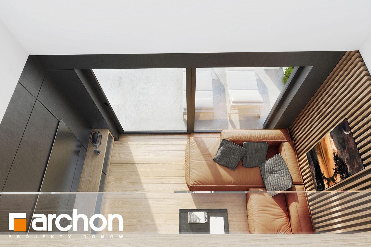 Проект будинку ARCHON+ Будинок в дабеціях 3 (Г2) денна зона (візуалізація 1 від 4)