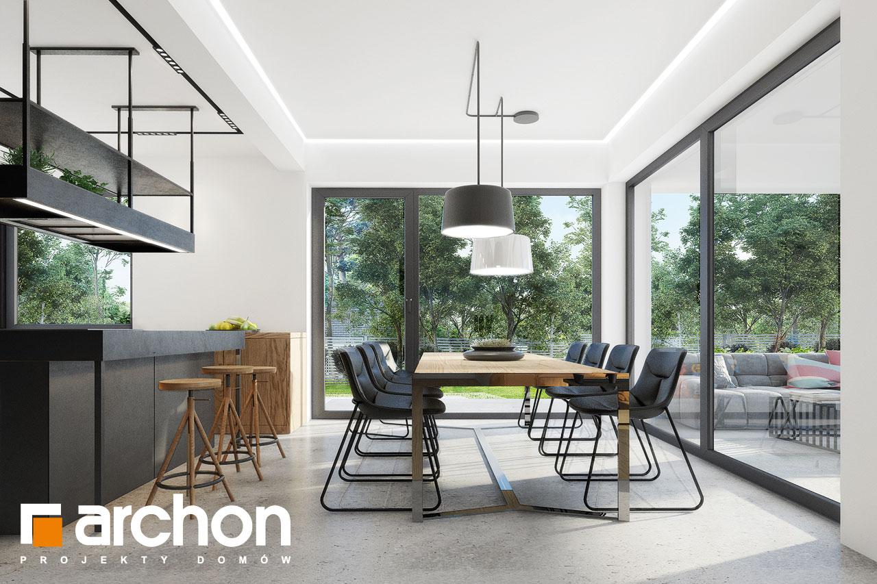 Проект будинку ARCHON+ Будинок в дабеціях 3 (Г2) денна зона (візуалізація 1 від 6)