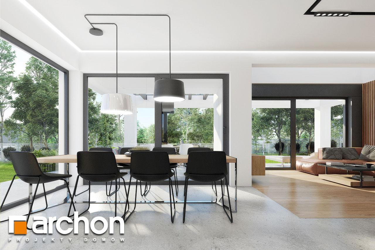 Проект будинку ARCHON+ Будинок в дабеціях 3 (Г2) денна зона (візуалізація 1 від 7)
