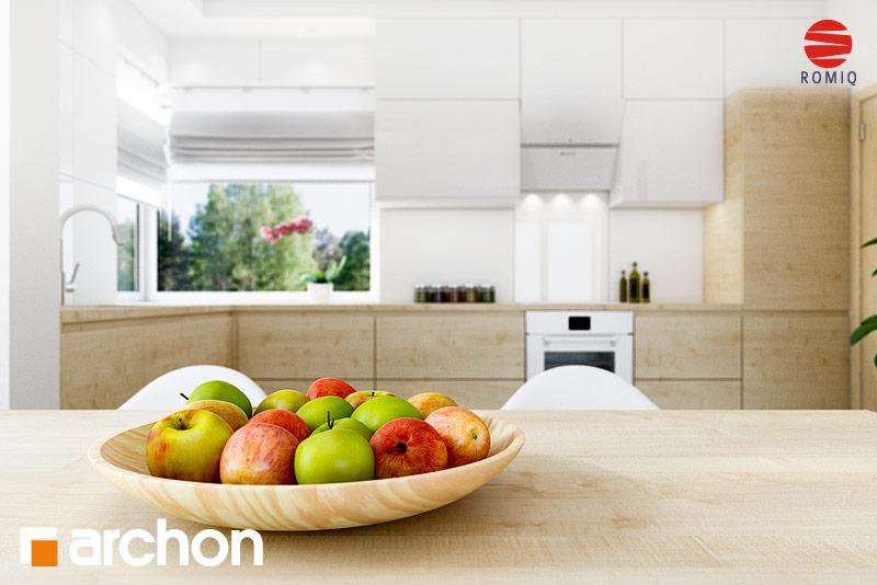 Проект дома ARCHON+ Дом в яблонках 8 (Г2) аранжировка кухни 1 вид 4