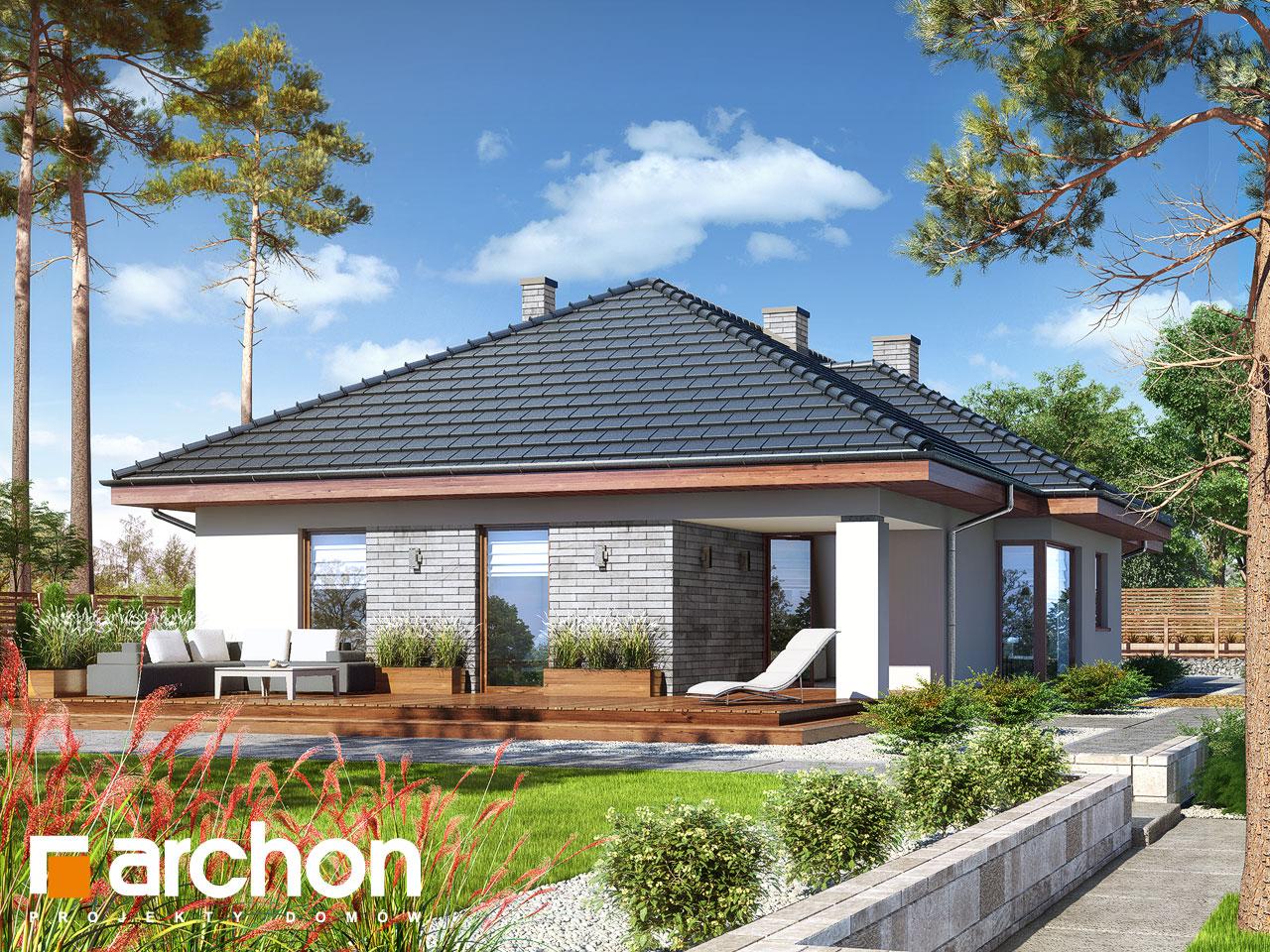 Проект будинку ARCHON+ Будинок в андромедах (Г2) Вид 2