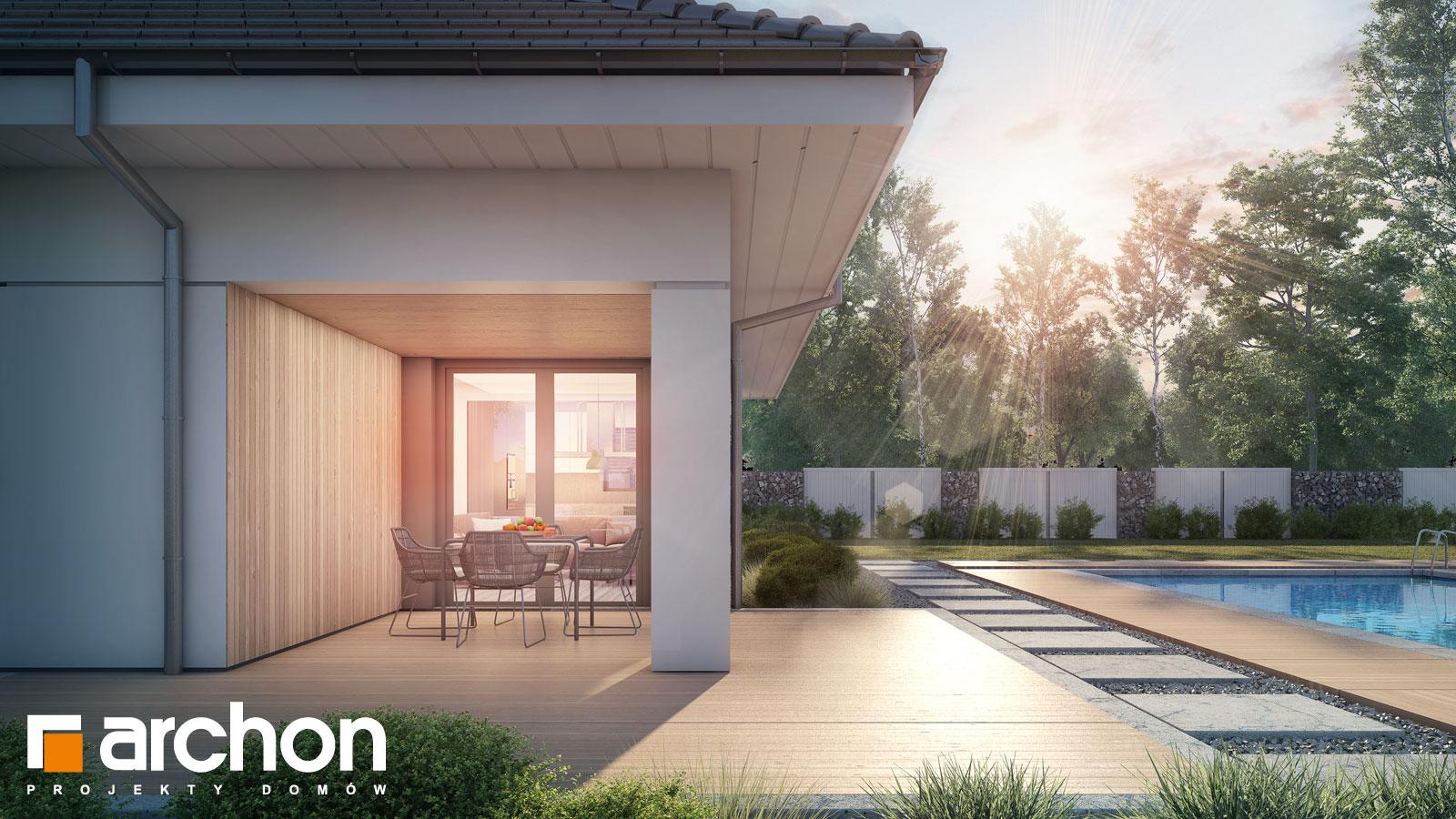 Проект будинку ARCHON+ Будинок в ренклодах 4 додаткова візуалізація