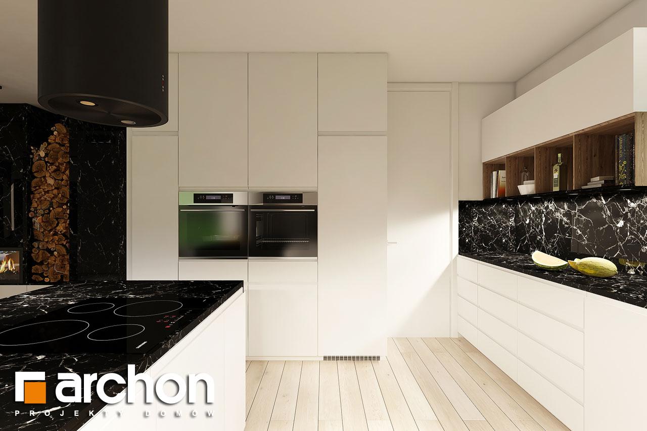 Проект будинку ARCHON+ Будинок в ренклодах 4 візуалізація кухні 1 від 1