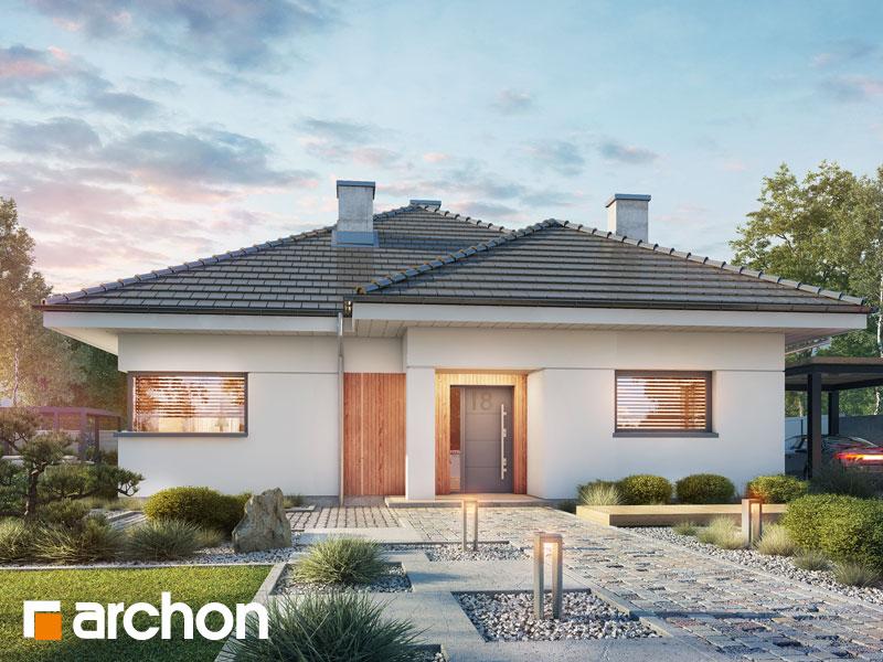 Проект будинку ARCHON+ Будинок в ренклодах 4 Вид 1