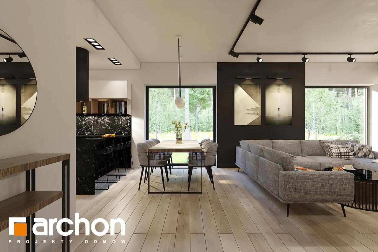 Проект будинку ARCHON+ Будинок в ренклодах 4 денна зона (візуалізація 1 від 3)