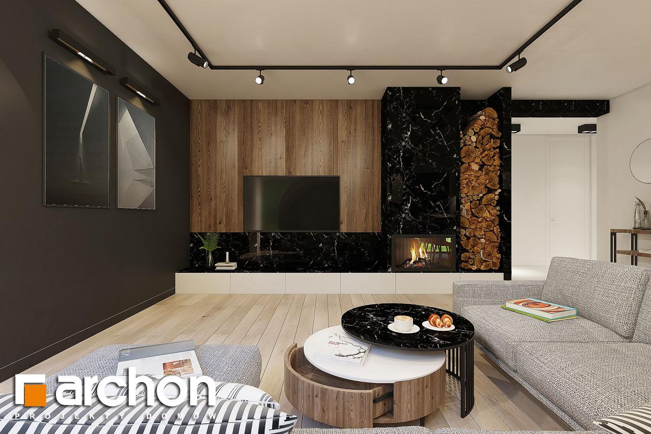 Проект будинку ARCHON+ Будинок в ренклодах 4 денна зона (візуалізація 1 від 5)
