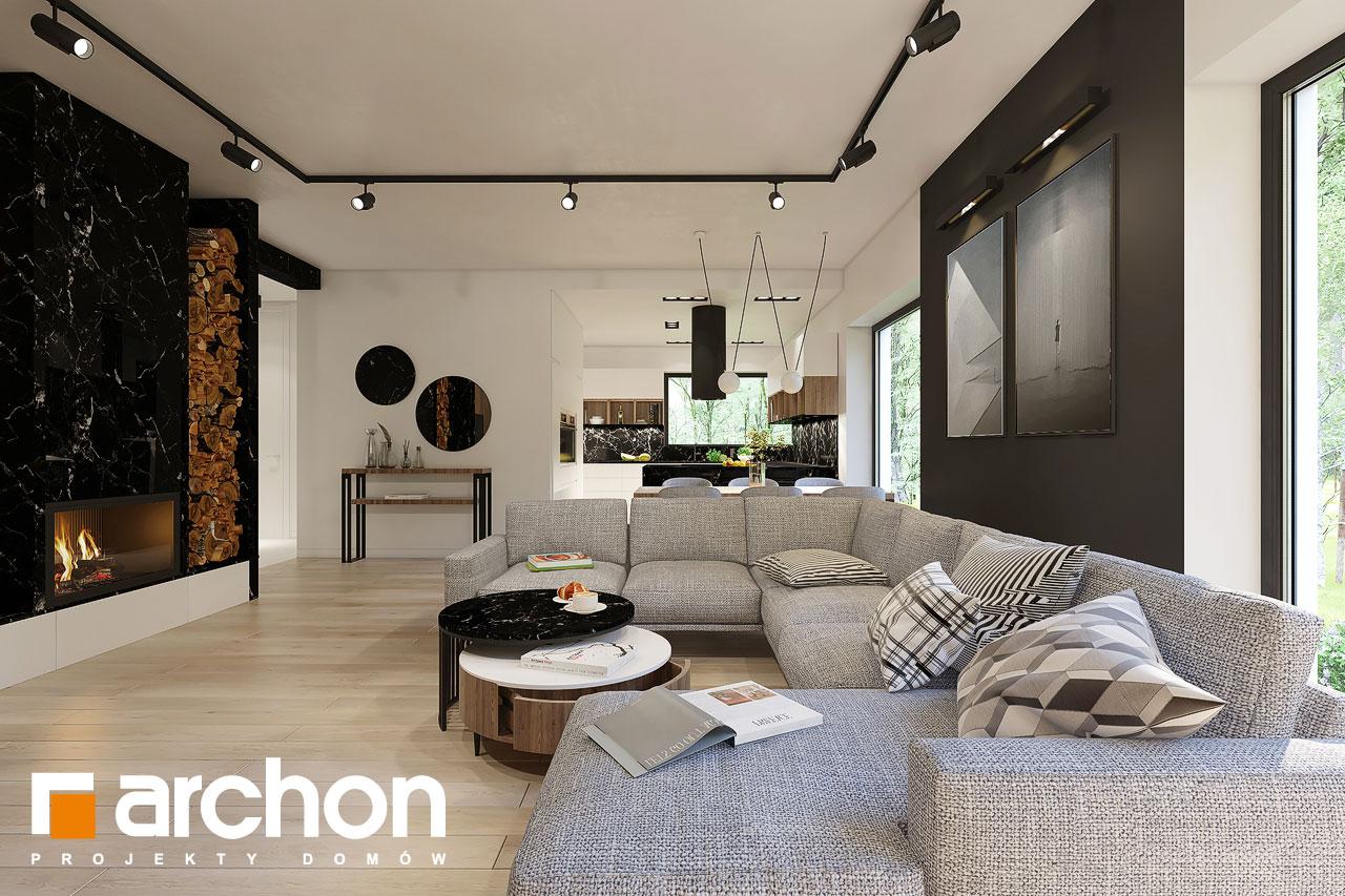 Проект будинку ARCHON+ Будинок в ренклодах 4 денна зона (візуалізація 1 від 1)