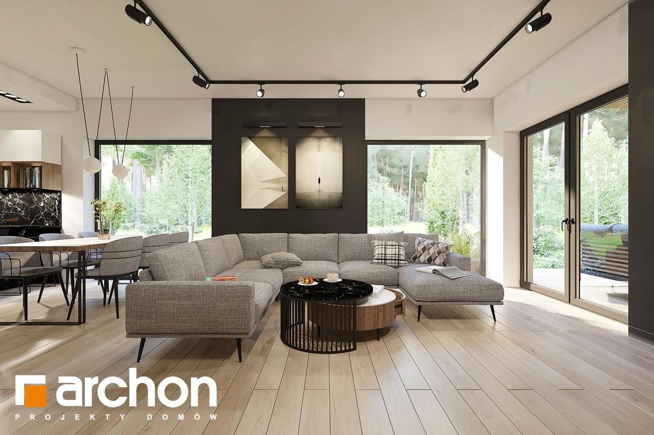 Проект будинку ARCHON+ Будинок в ренклодах 4 денна зона (візуалізація 1 від 2)
