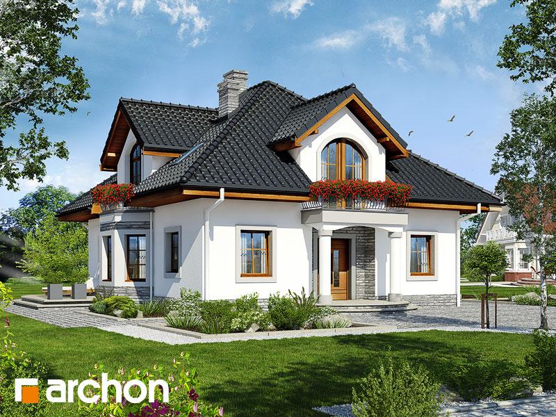 Проект будинку ARCHON+ Будинок в тим'яні 9 Вид 1