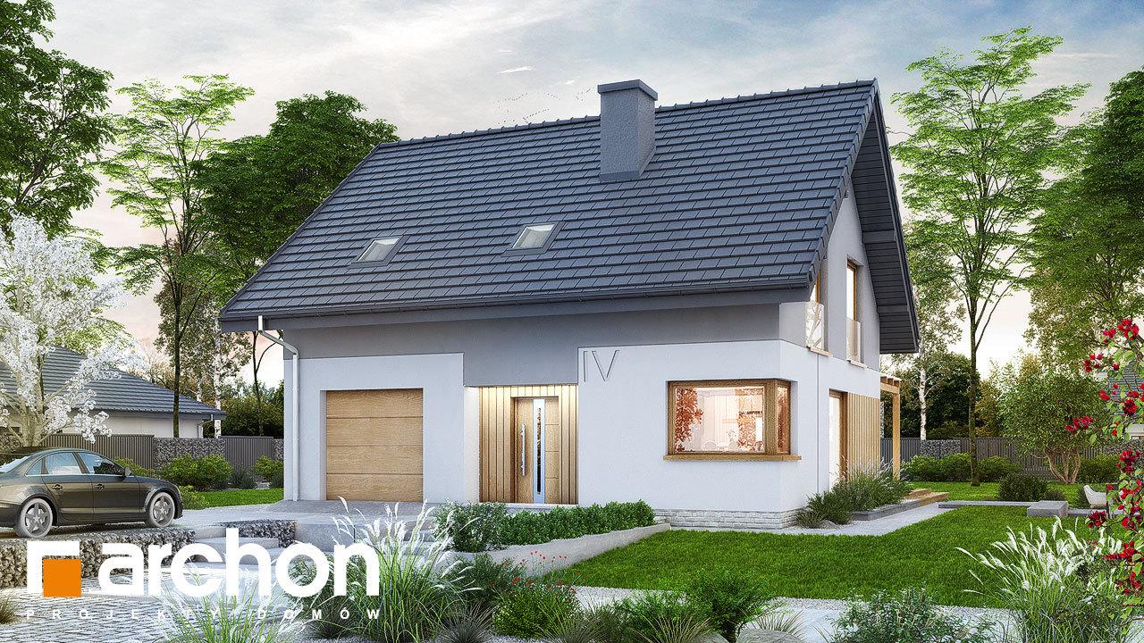Проект дома ARCHON+ Дом в аммобиуме