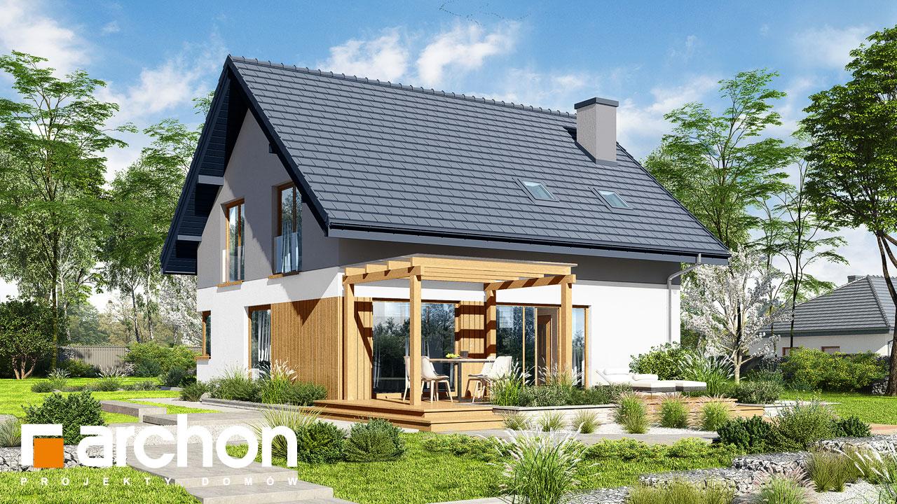 Проект дома ARCHON+ Дом в аммобиуме Вид 2