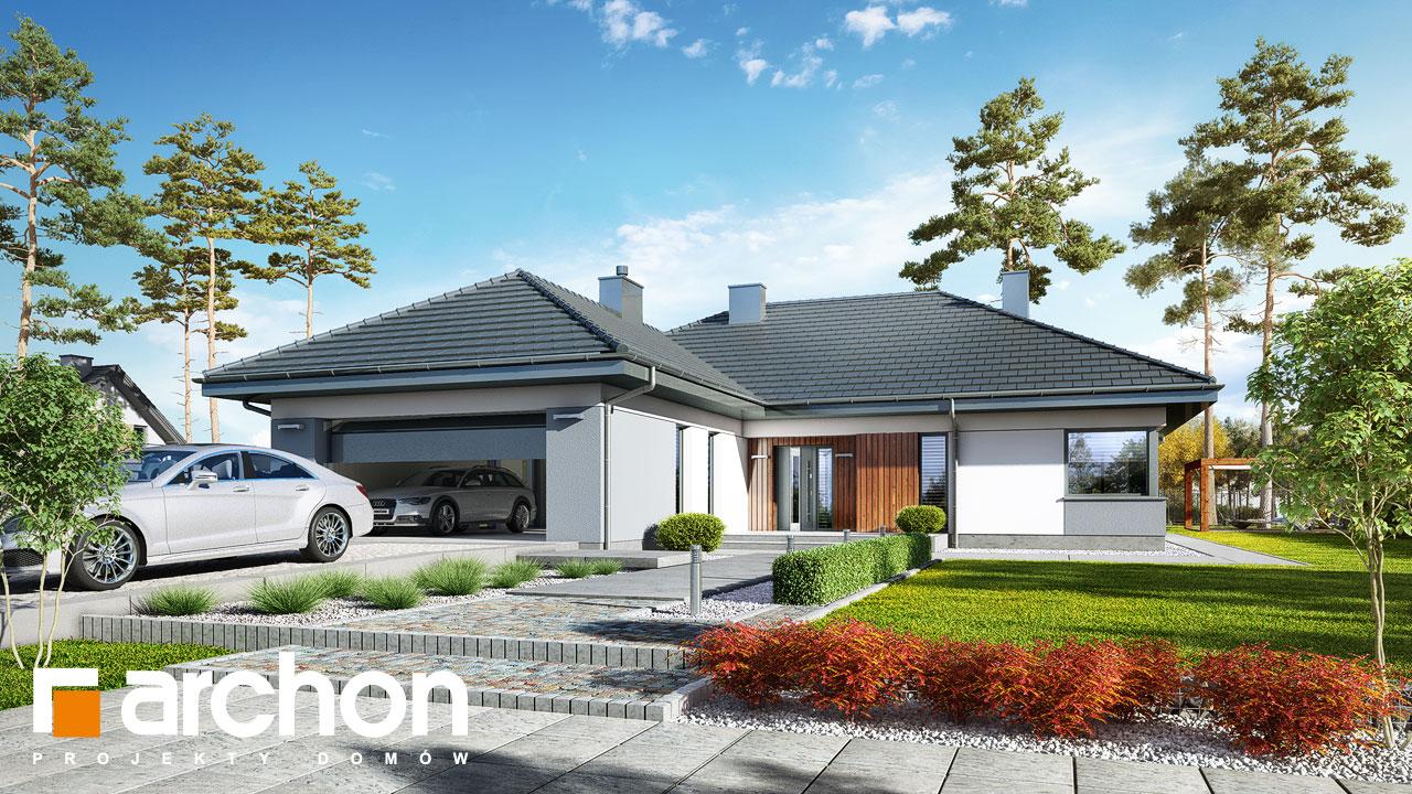 Проект будинку ARCHON+ Будинок в арівах (Г2) Вид 2
