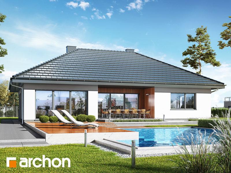 Проект будинку ARCHON+ Будинок в арівах (Г2) Вид 1