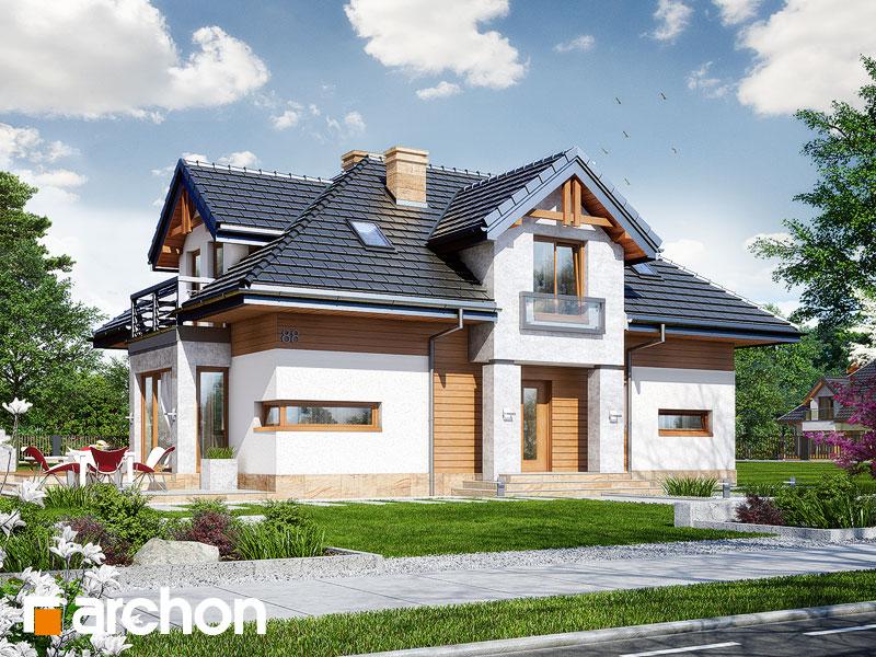 Проект дома ARCHON+ Дом в сальвиниях Вид 1