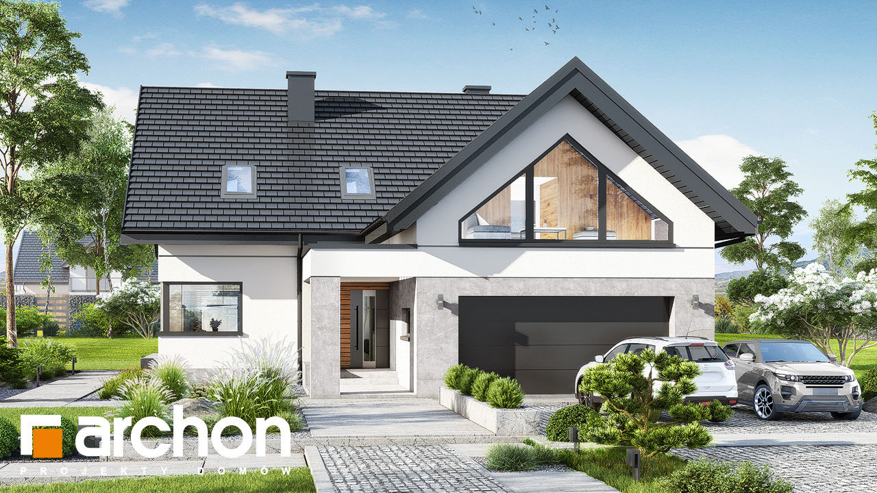 Проект будинку ARCHON+ Будинок в яскерах 5 (Г2)