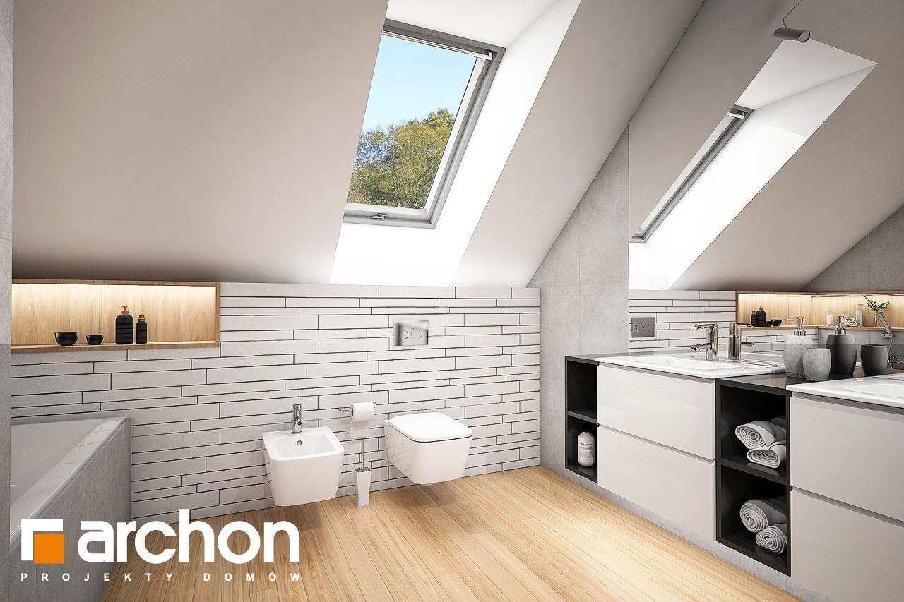 Проект будинку ARCHON+ Будинок в яскерах 5 (Г2) візуалізація ванни (візуалізація 3 від 1)