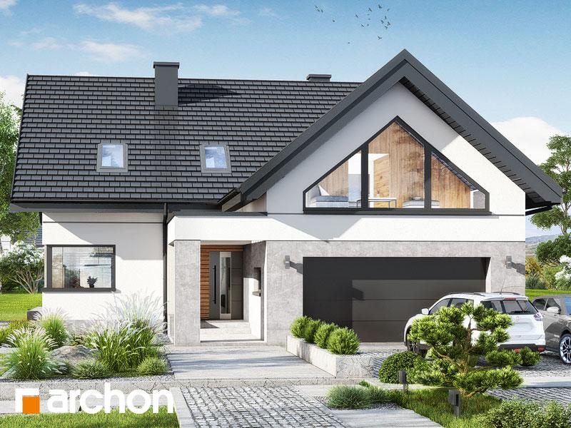 Проект будинку ARCHON+ Будинок в яскерах 5 (Г2) Вид 1