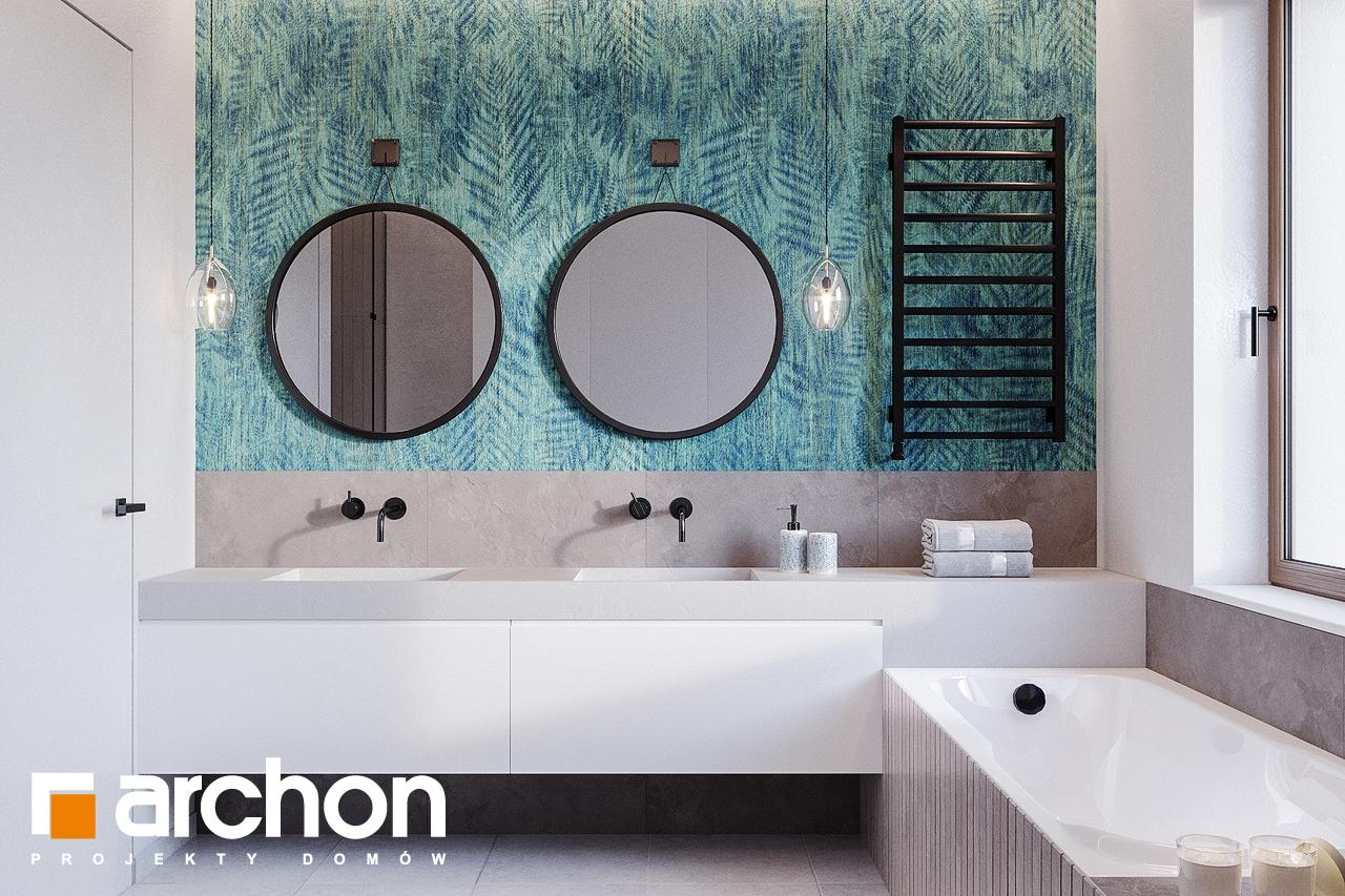 Проект будинку ARCHON+ Будинок в ренклодах 7 (Г2) візуалізація ванни (візуалізація 3 від 2)
