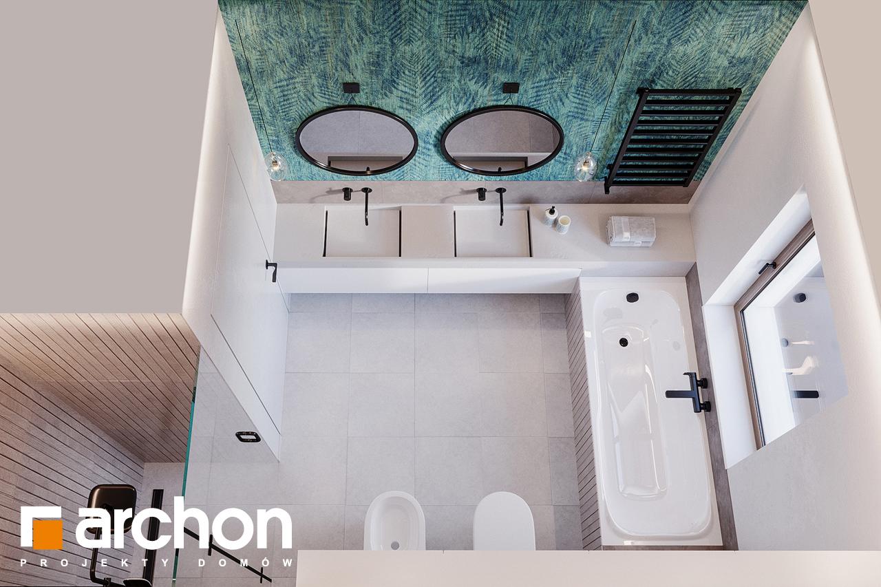 Проект будинку ARCHON+ Будинок в ренклодах 7 (Г2) візуалізація ванни (візуалізація 3 від 4)