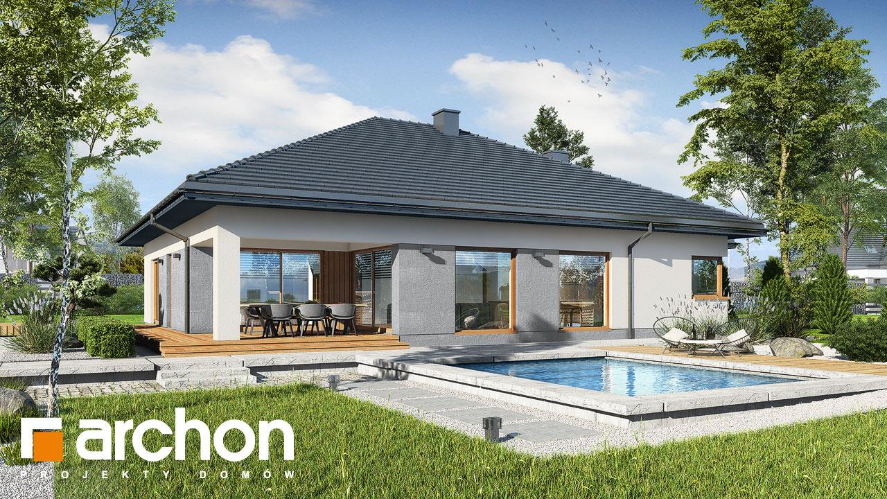 Проект будинку ARCHON+ Будинок в ренклодах 7 (Г2) Вид 2