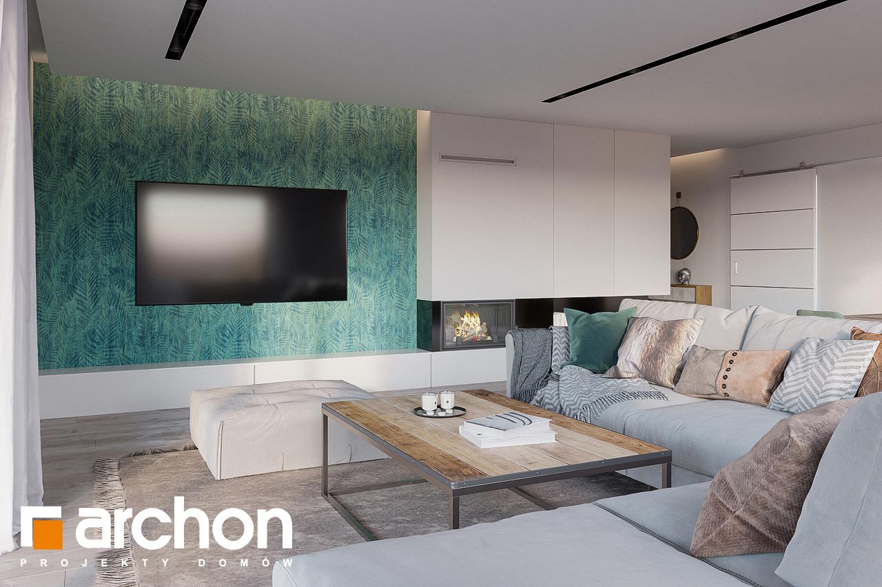 Проект будинку ARCHON+ Будинок в ренклодах 7 (Г2) денна зона (візуалізація 1 від 1)