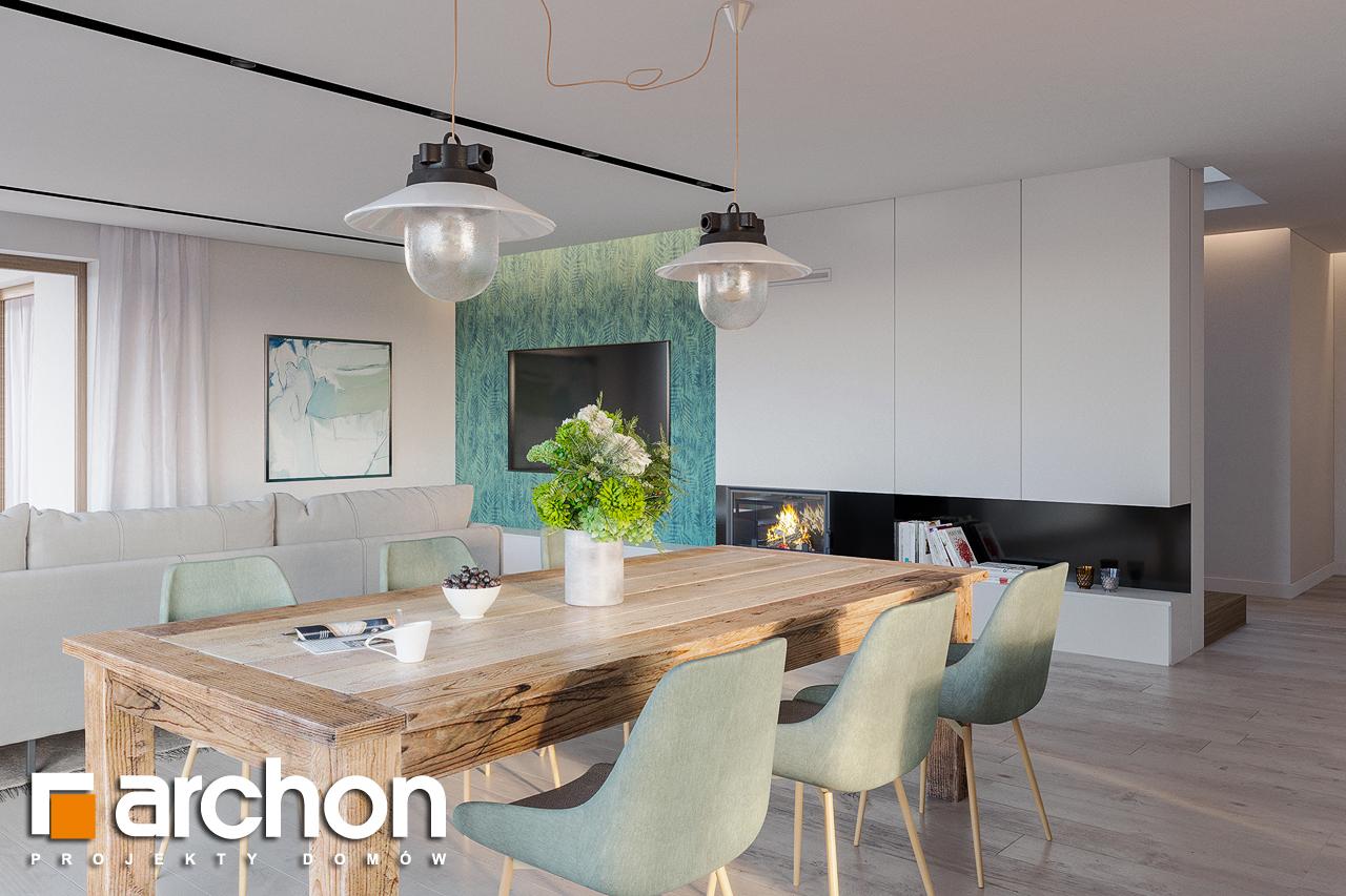 Проект будинку ARCHON+ Будинок в ренклодах 7 (Г2) денна зона (візуалізація 1 від 2)
