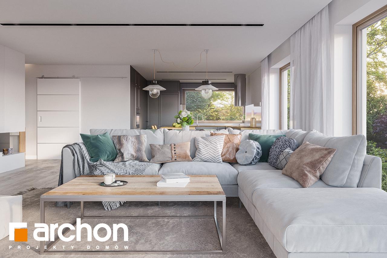 Проект будинку ARCHON+ Будинок в ренклодах 7 (Г2) денна зона (візуалізація 1 від 3)