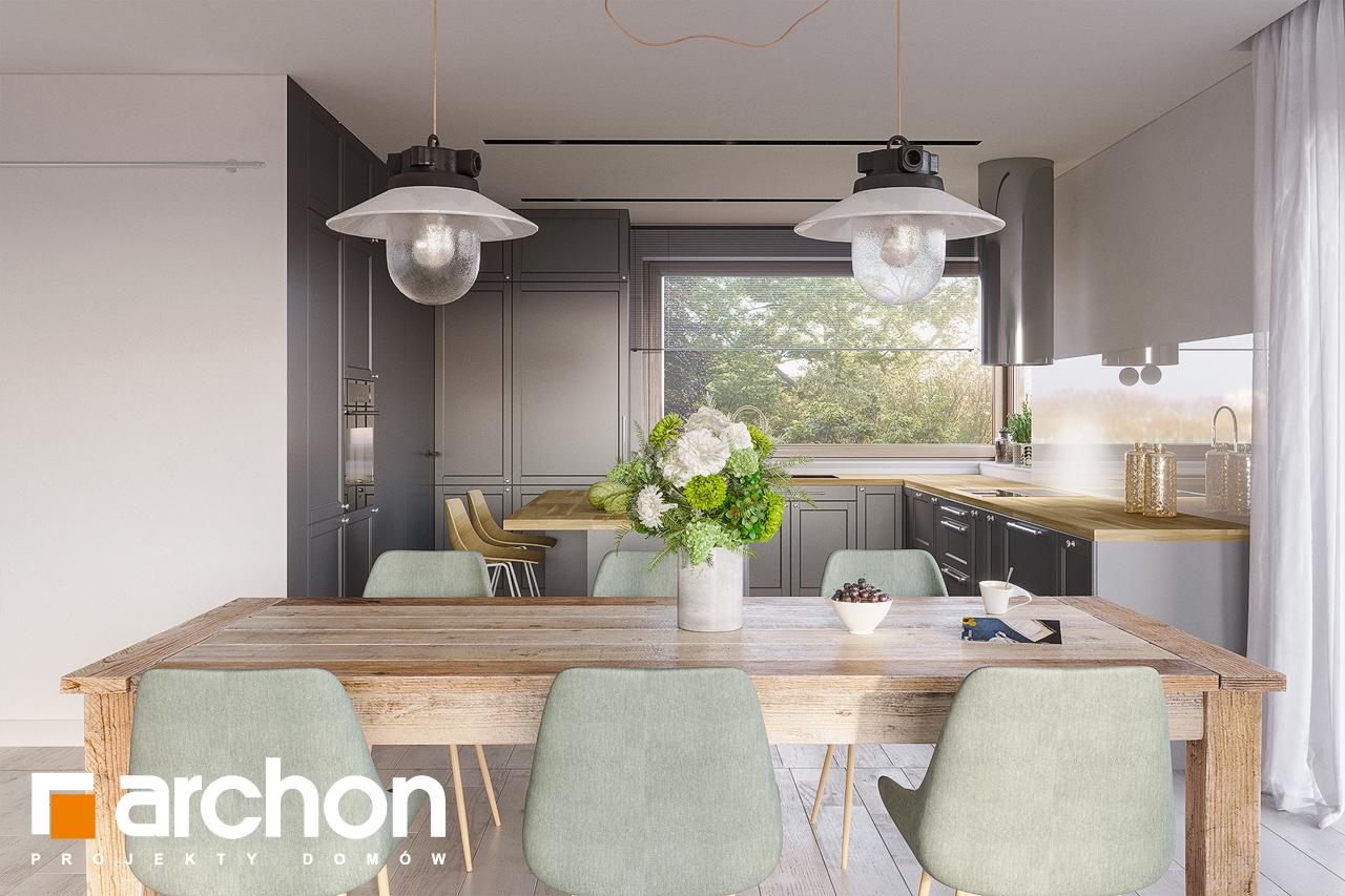 Проект будинку ARCHON+ Будинок в ренклодах 7 (Г2) денна зона (візуалізація 1 від 5)