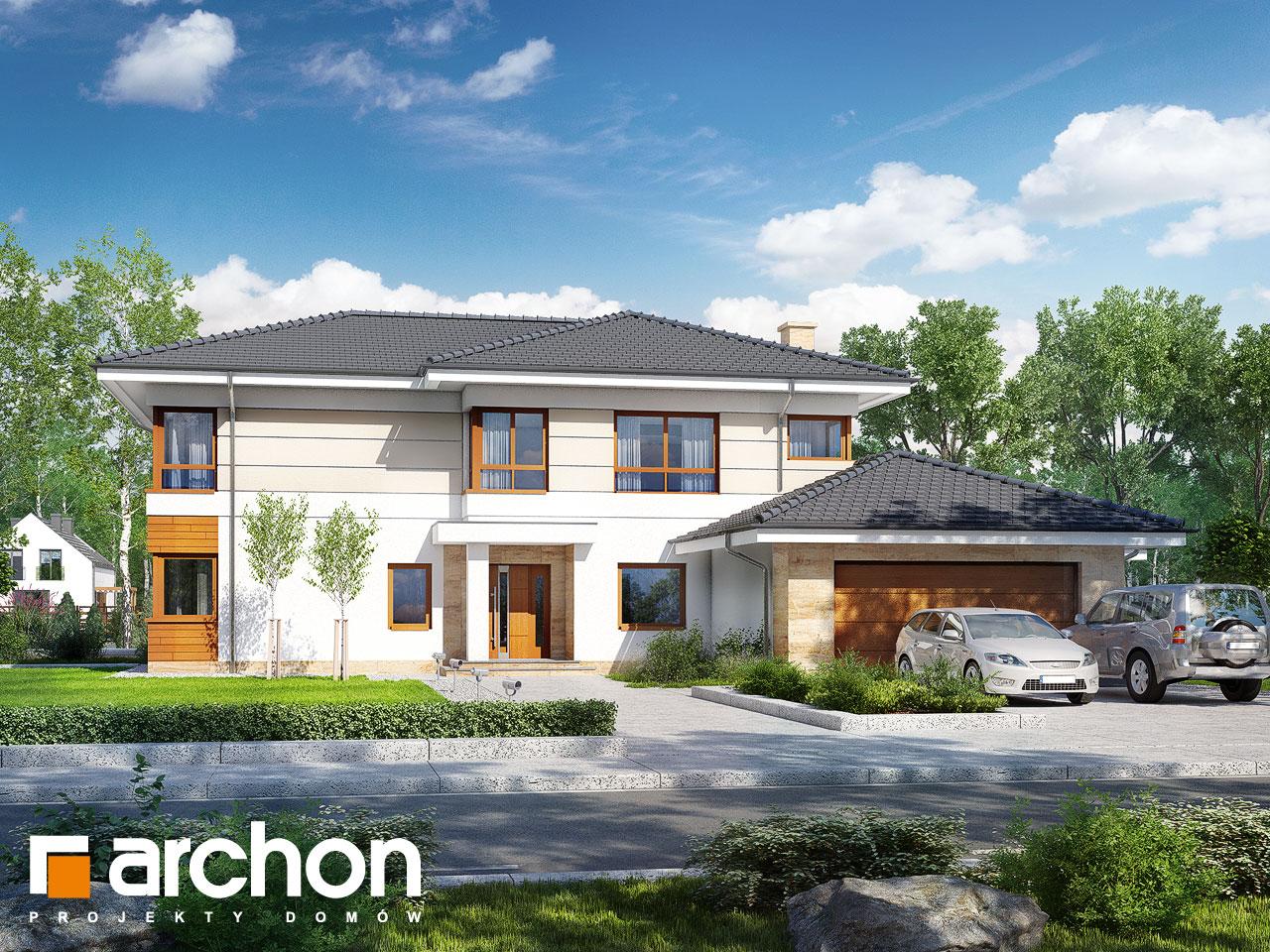 Проект будинку ARCHON+ Вілла Вероніка 4 Вид 2