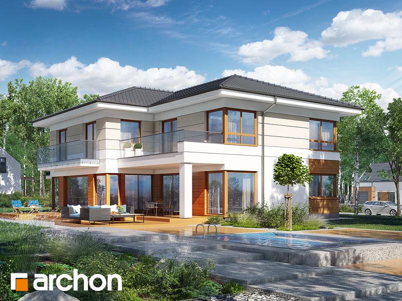 Проект будинку ARCHON+ Вілла Вероніка 4 Вид 1