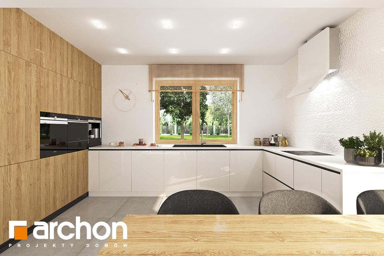 Проект будинку ARCHON+ Будинок в люцерні 7 візуалізація кухні 1 від 1