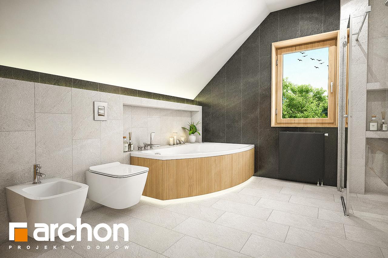 Проект будинку ARCHON+ Будинок в люцерні 7 візуалізація ванни (візуалізація 3 від 2)