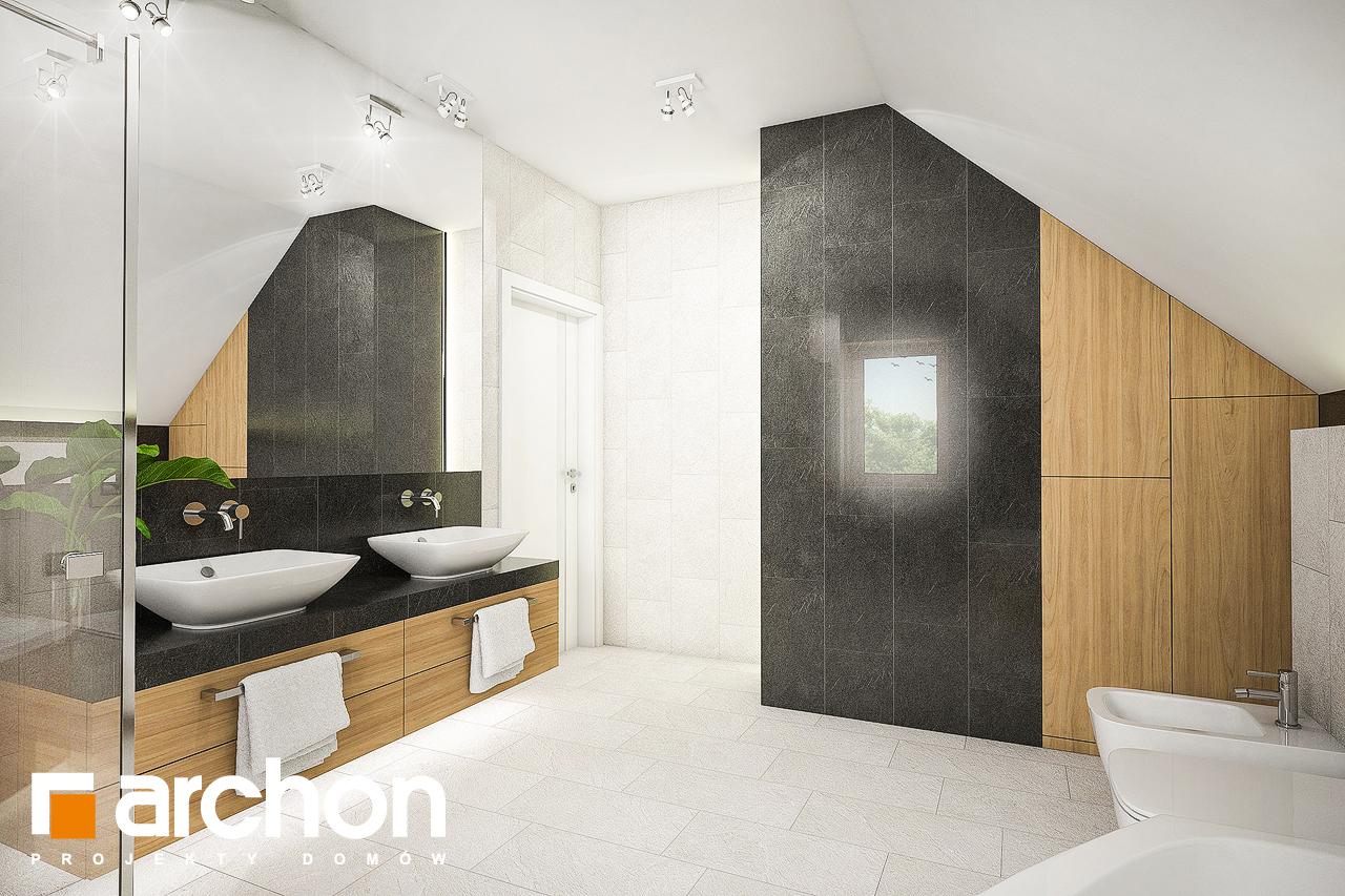 Проект будинку ARCHON+ Будинок в люцерні 7 візуалізація ванни (візуалізація 3 від 3)