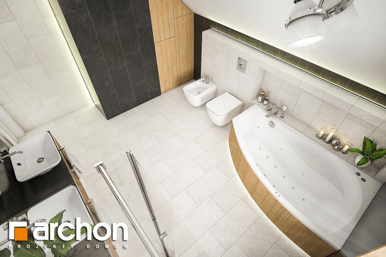 Проект будинку ARCHON+ Будинок в люцерні 7 візуалізація ванни (візуалізація 3 від 4)