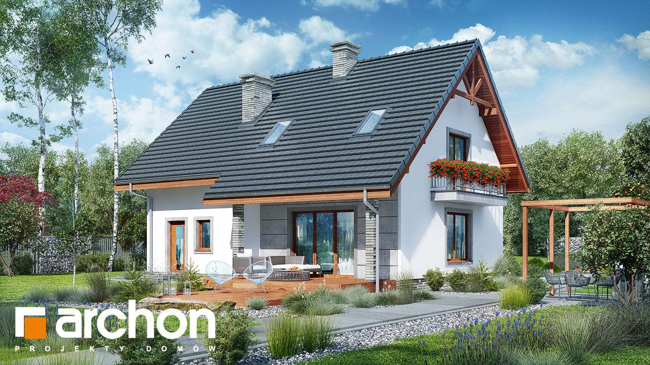 Проект будинку ARCHON+ Будинок в люцерні 7 Вид 2
