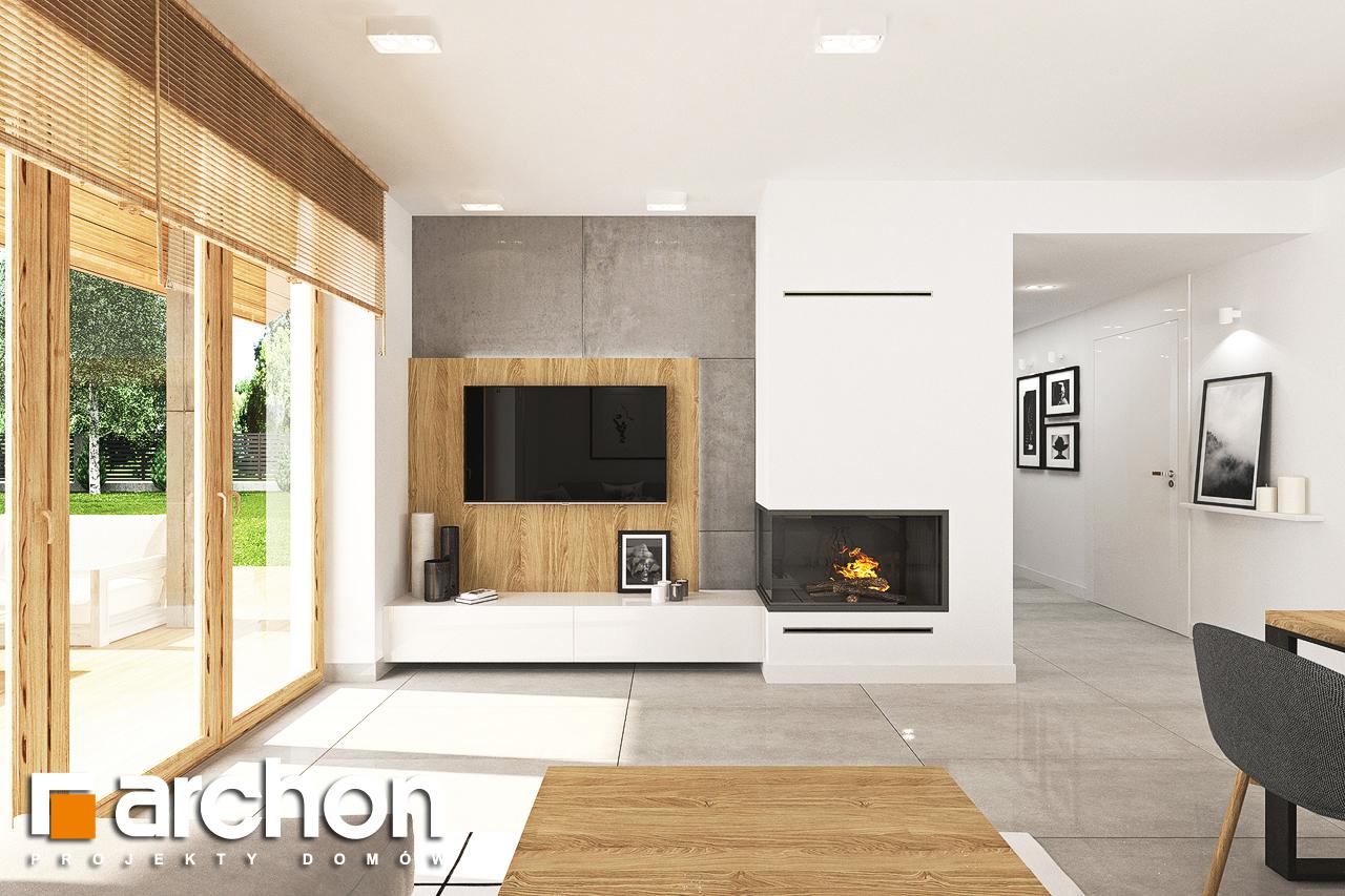 Проект будинку ARCHON+ Будинок в люцерні 7 денна зона (візуалізація 1 від 3)