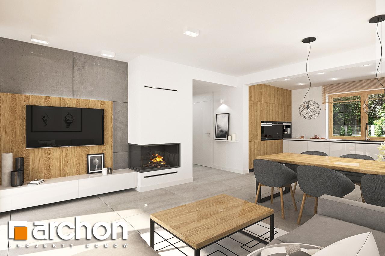 Проект будинку ARCHON+ Будинок в люцерні 7 денна зона (візуалізація 1 від 1)