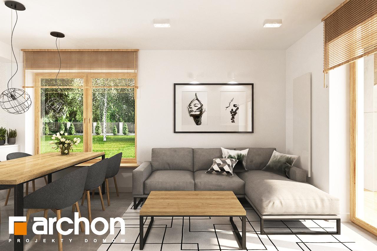 Проект будинку ARCHON+ Будинок в люцерні 7 денна зона (візуалізація 1 від 2)