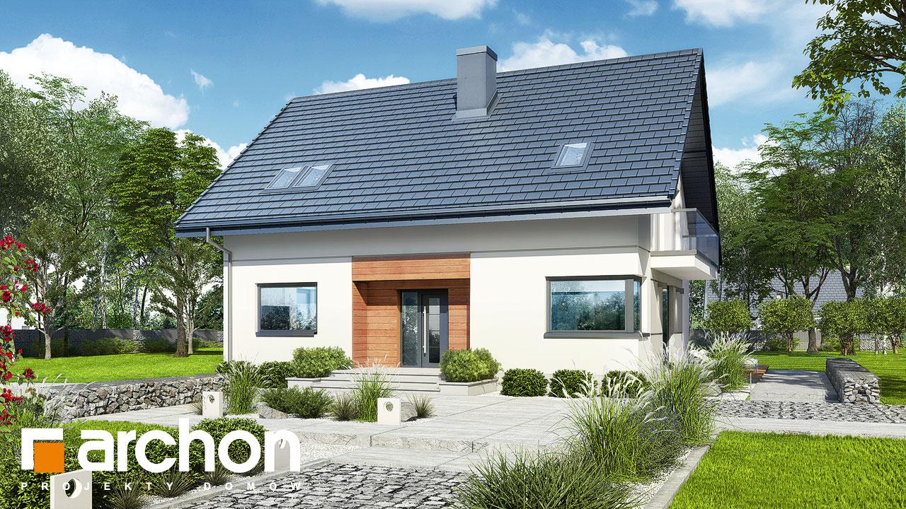 Проект будинку ARCHON+ Будинок в яблонках 14 додаткова візуалізація