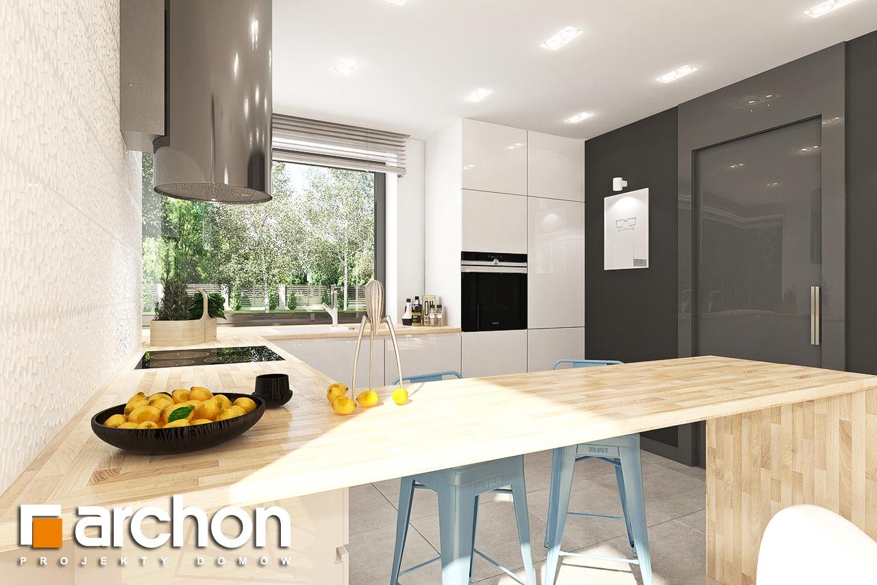 Проект будинку ARCHON+ Будинок в яблонках 14 візуалізація кухні 1 від 1
