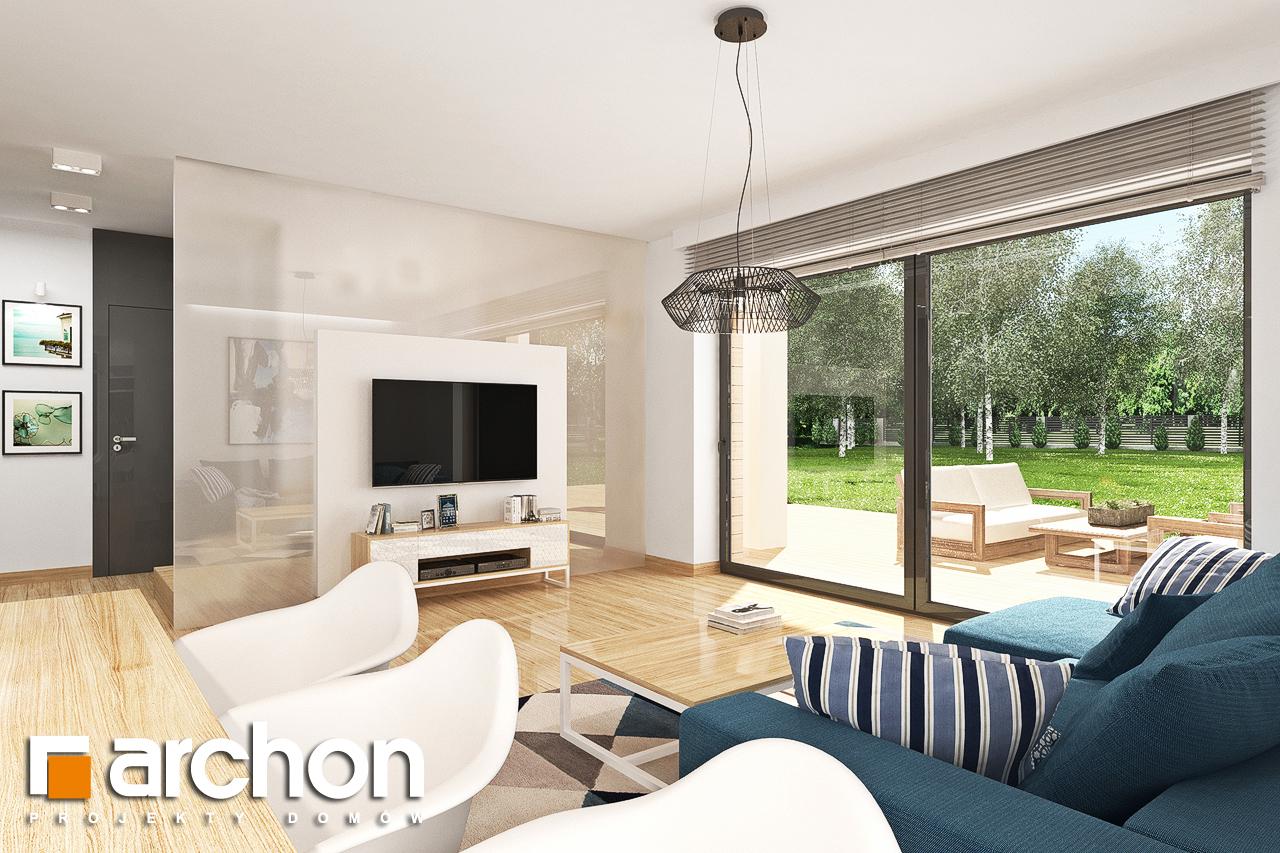Проект будинку ARCHON+ Будинок в яблонках 14 денна зона (візуалізація 1 від 1)