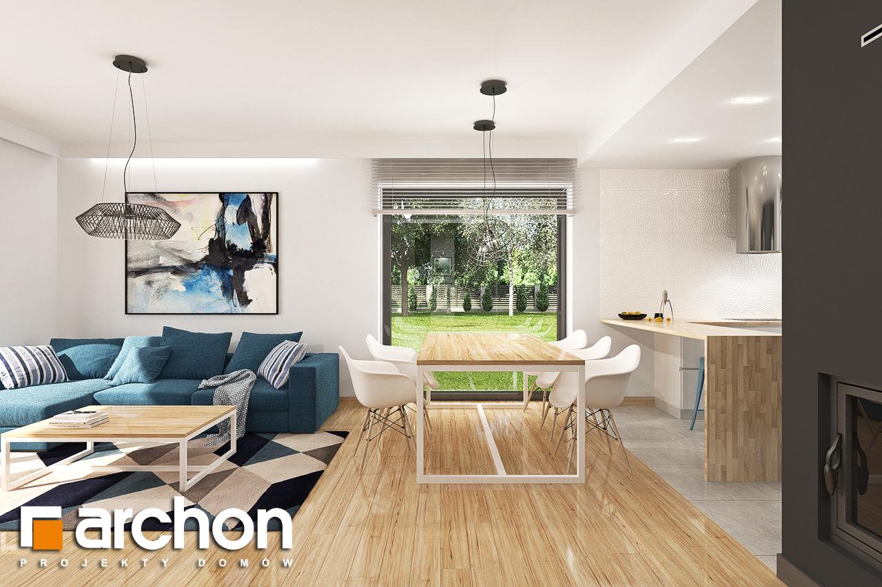Проект будинку ARCHON+ Будинок в яблонках 14 денна зона (візуалізація 1 від 4)
