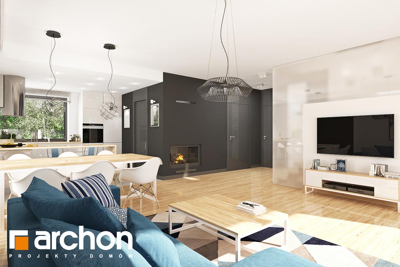 Проект будинку ARCHON+ Будинок в яблонках 14 денна зона (візуалізація 1 від 5)