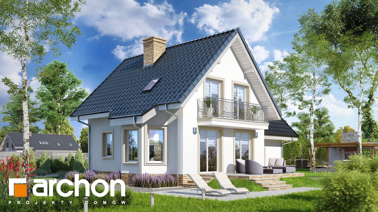 Проект дома ARCHON+ Дом в винограде 2 (П) Вид 2