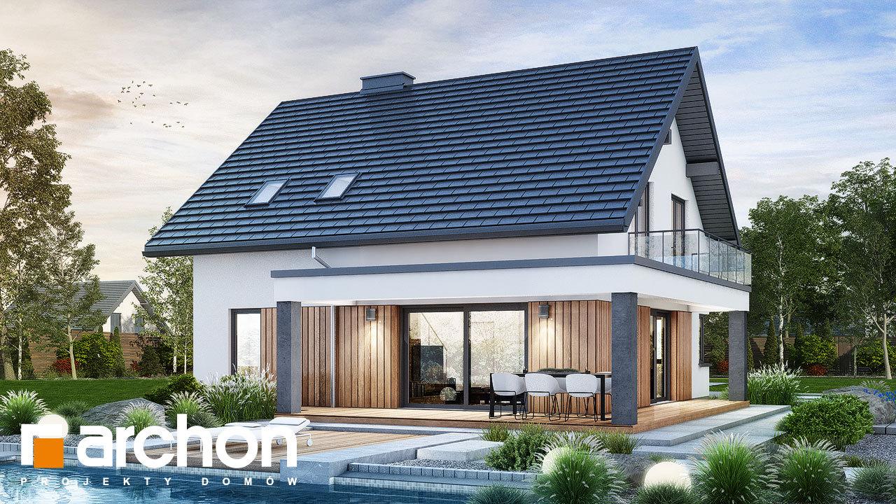 Проект будинку ARCHON+ Будинок в нефрісах (Г)