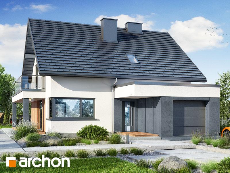 Проект будинку ARCHON+ Будинок в нефрісах (Г) Вид 1
