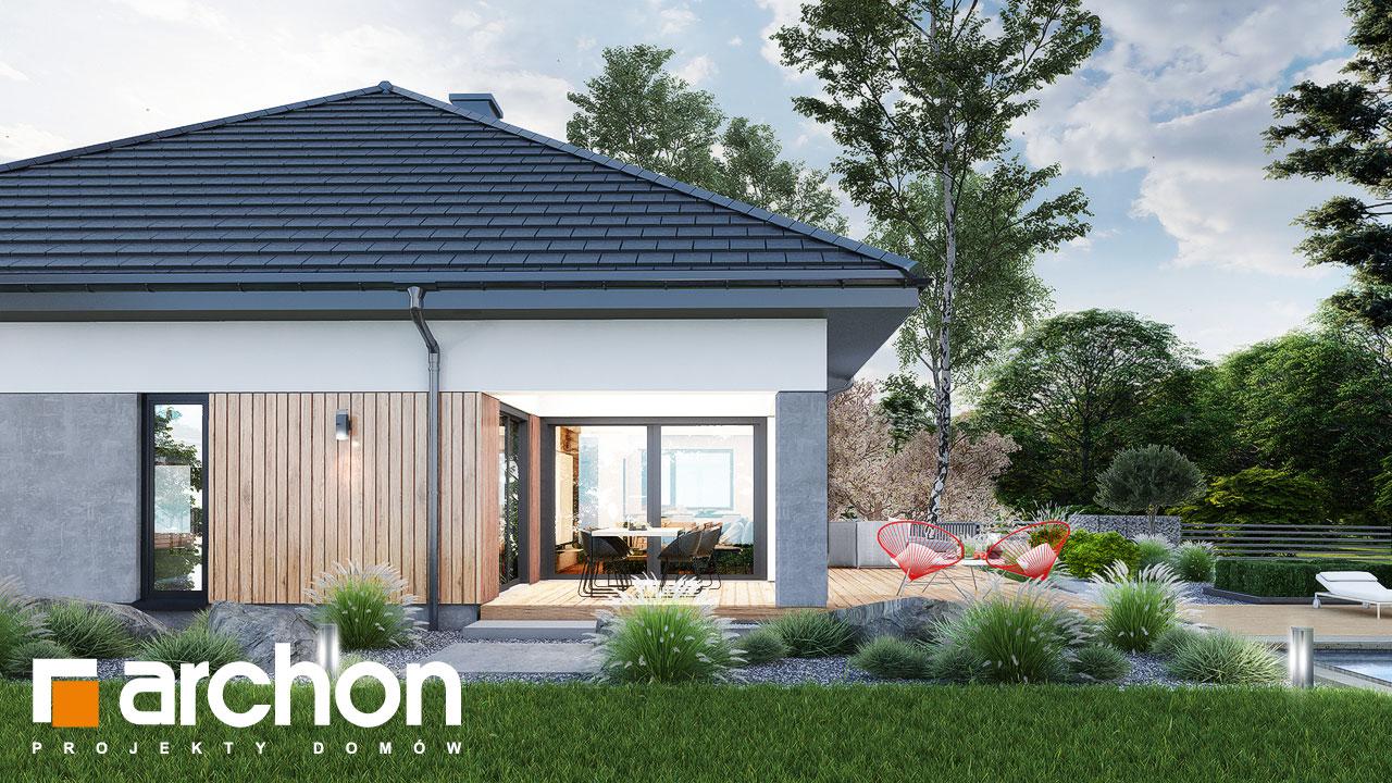 Проект будинку ARCHON+ Будинок в ренклодах 16 (Г2) додаткова візуалізація