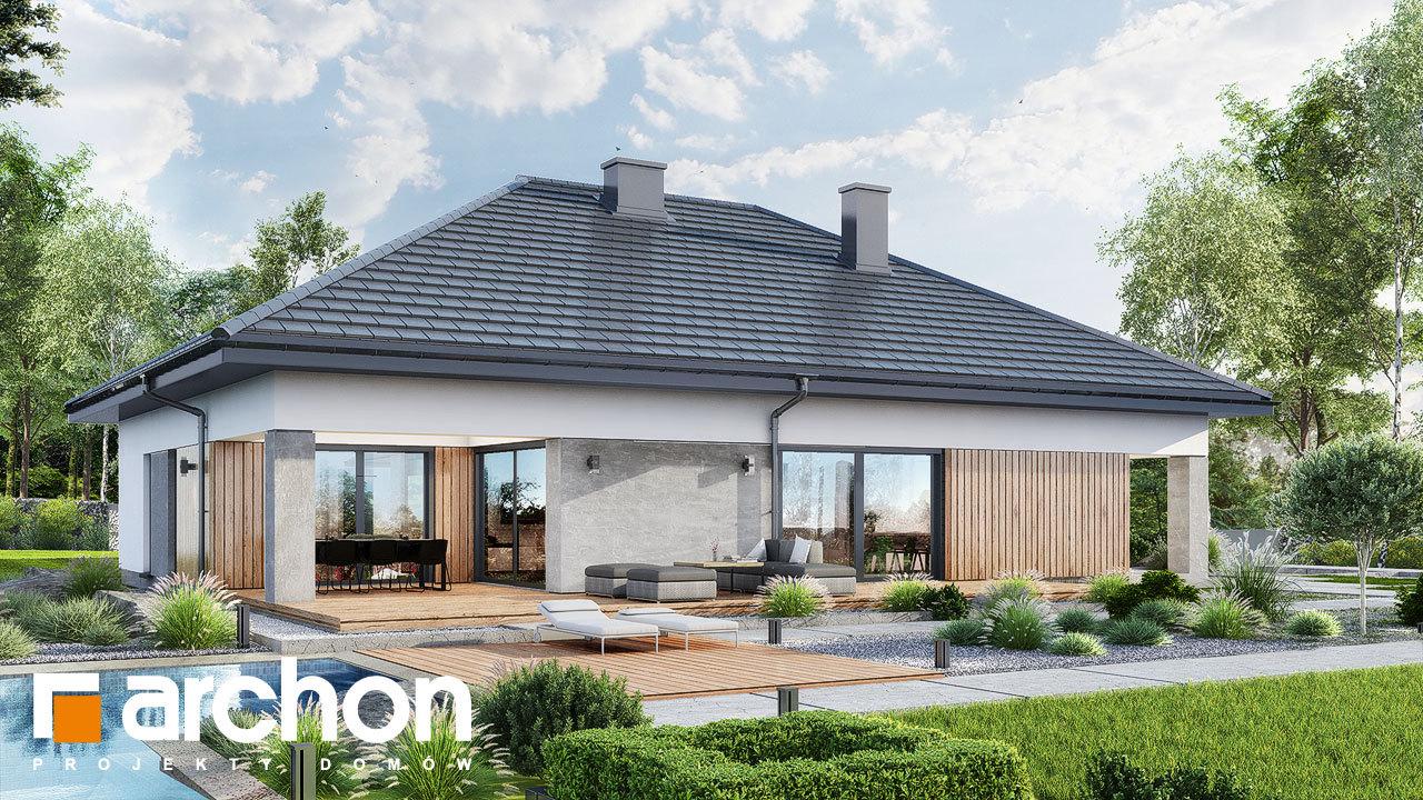Проект будинку ARCHON+ Будинок в ренклодах 16 (Г2)
