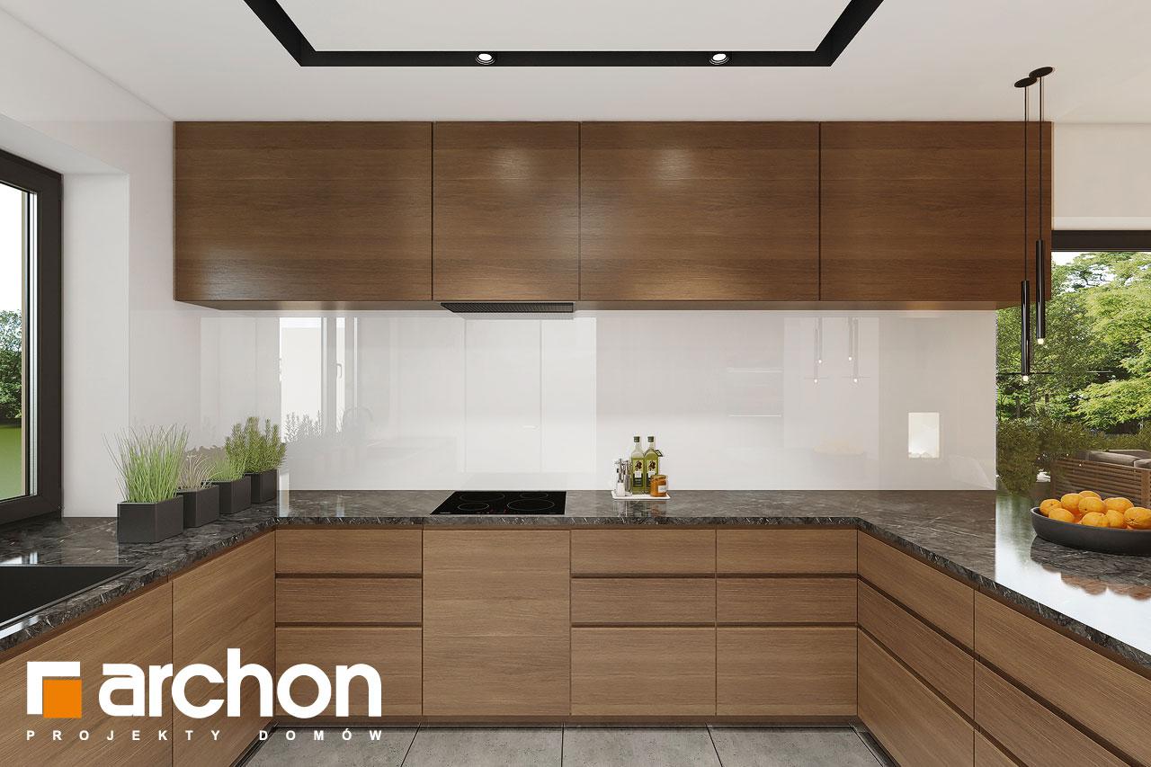 Проект будинку ARCHON+ Будинок в ренклодах 16 (Г2) візуалізація кухні 1 від 1