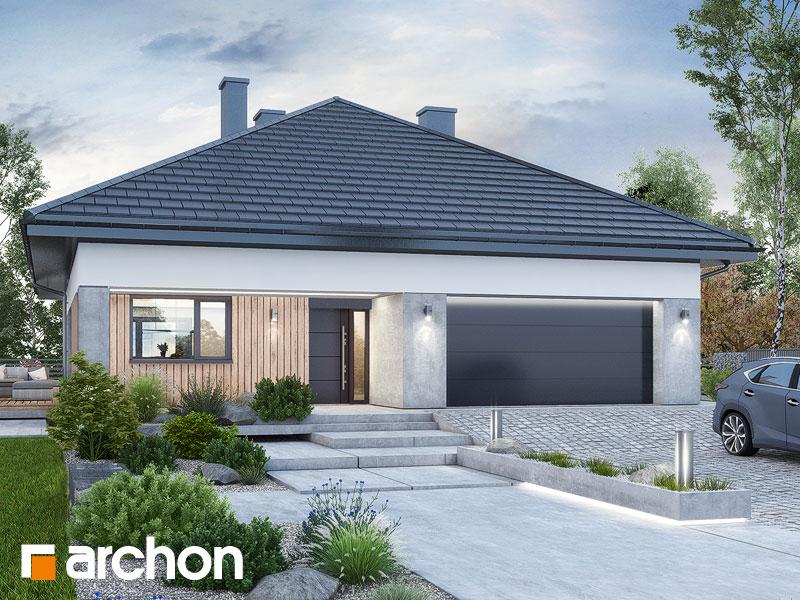 Проект будинку ARCHON+ Будинок в ренклодах 16 (Г2) Вид 1